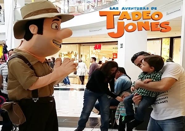 Fabricantes disfraces animacion Tadeo Jones